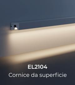 Cornice per LED da Esterno ELENI LIGHTING EL2104 - Segnapasso Piano