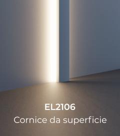 Cornice per LED da Esterno ELENI LIGHTING EL2106 - Lesena Piccola a Muro