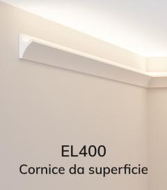Cornice per LED da Incasso ELENI LIGHTING EL400 - Veletta da Incasso a Parete per Luce Diffusa