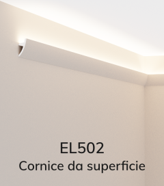 Cornice per LED ELENI LIGHTING EL502 - Illuminazione diffusa
