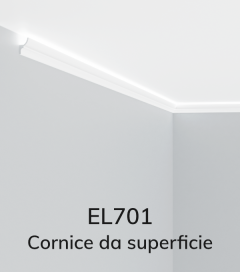 Cornice per LED ELENI LIGHTING EL701 - Vela Convessa per Parete