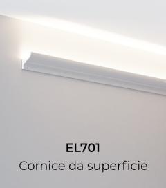 Cornice per LED ELENI LIGHTING EL701 - Vela Convessa per Parete