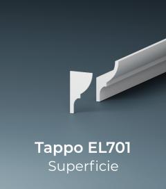 Tappo per Cornice da Interno ELENI modello EL701