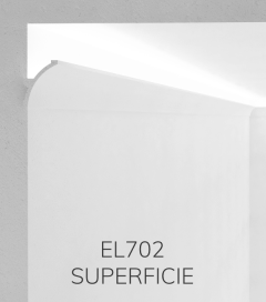 Cornice per LED ELENI LIGHTING EL702 - Vela Concava per Parete