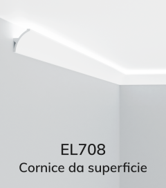 Cornice per LED ELENI LIGHTING EL708 - Vela Concava per Parete