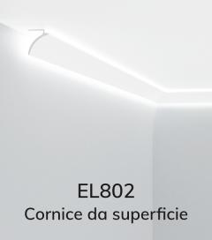 Cornice per LED ELENI LIGHTING EL802 - Vela per Illuminazione Diffusa lungo la Tenda