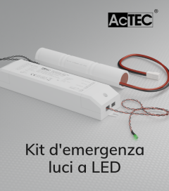 Kit di Emergenza luci a LED - AcTEC
