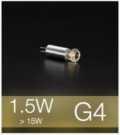 Lampadina LED G4 1,5W - Bianco CALDO
