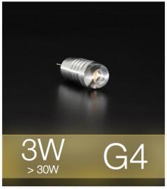 Lampadina LED G4 3W - Bianco CALDO