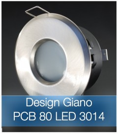Faretto completo Satinato con PCB 11W - Design GIANO - Dimmerabile - Made In Italy