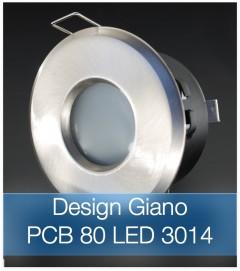 Corpo Faretto Satinato con PCB 6.7W - Design GIANO