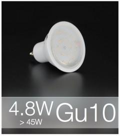 Faretto LED  GU10 4,8W - Bianco NATURALE