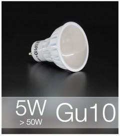 Faretto LED  GU10 5W - Bianco NATURALE