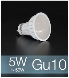 Faretto LED  GU10 5W - Bianco FREDDO