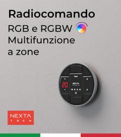 Radiocomando RGB e RGBW Multifunzione a Zone Hoblo80 - Nexta + Centraline