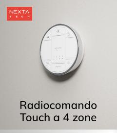 Radiocomando multifunzione a 4 Zone Hoblo80 - Nexta + Centraline