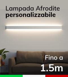 Lampada LED da parete Afrodite - Doppia Emissione di Luce - Da 100cm a 150cm - Personalizzabile - Dimmerabile