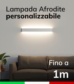 Lampada LED da parete Afrodite - Doppia Emissione di Luce - Fino a 100cm - Personalizzabile - Dimmerabile
