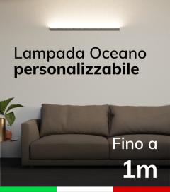 Lampada LED da parete Oceano - Fino a 100cm - Personalizzabile - Dimmerabile - 24V