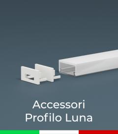 Accessori per Profilo in Alluminio Luna