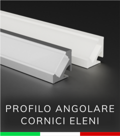 Profilo in Alluminio angolare a 45° Design Classic - per Cornici Eleni EL504, EL112