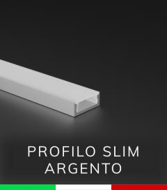 Profilo in Alluminio ULTRASLIM Argento