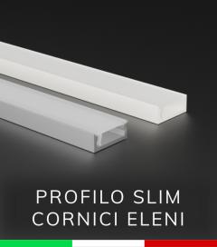 Profilo in Alluminio ULTRASLIM - per Cornici Eleni