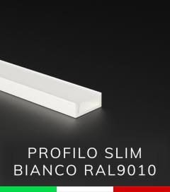 Profilo in Alluminio ULTRASLIM Verniciato Bianco