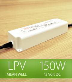 Alimentatore Meanwell LPV-150-12 12V 150W  Resistente all'acqua
