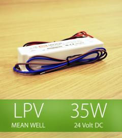 Alimentatore Meanwell LPV-35-24 24V 35W  Resistente all'acqua