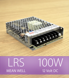 Alimentatore MeanWell LRS-100-12 12V 100W DC