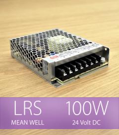 Alimentatore MeanWell LRS-100-24 24V 100W DC