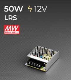 Alimentatore MeanWell LRS-50-12 12V - 50W