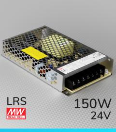 Alimentatore MeanWell LRS-150-24 24V 150W