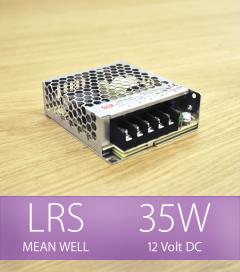 Alimentatore MeanWell LRS-35-12 12V - 35W