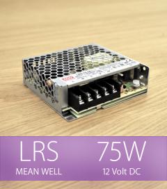 Alimentatore MeanWell LRS-75-12 12V 75W