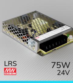 Alimentatore MeanWell LRS-75-24 24V 75W