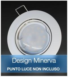 Corpo Faretto Bianco DESIGN MINERVA
