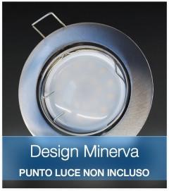 Corpo Faretto Satinato DESIGN MINERVA
