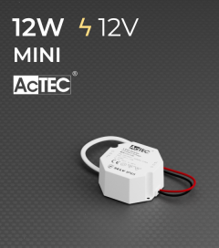 Alimentatore ACTEC MINI - 12V - 12W