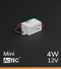 Alimentatore ACTEC MINI - 12V - 4W