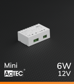 Alimentatore ACTEC MINI - 12V - 6W