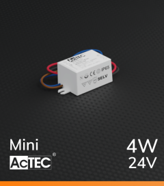 Alimentatore ACTEC MINI - 24V - 4W