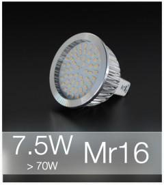 Faretto LED MR16 7.5W (70W) - Bianco NATURALE