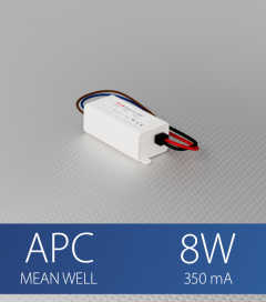 Alimentatore a Corrente Costante - Meanwell APC-8-350 - 8W - 350mA
