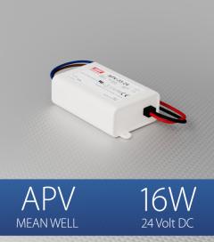 Alimentatore Meanwell APV-16-24  - 24V - 16W