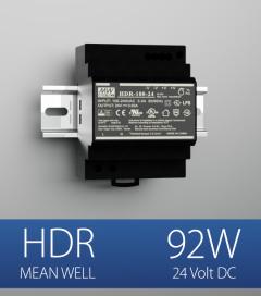 Alimentatore Meanwell HDR-100-24 - 92W - Barra DIN