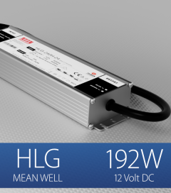 Alimentatore Meanwell HLG-240H-12 12V 192W  Resistente all'acqua - Versione Standard, A e B