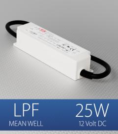 Alimentatore Meanwell LPF-25-12  - 12V - 25W