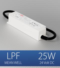 Alimentatore Meanwell LPF-25-24  - 25W - 24V